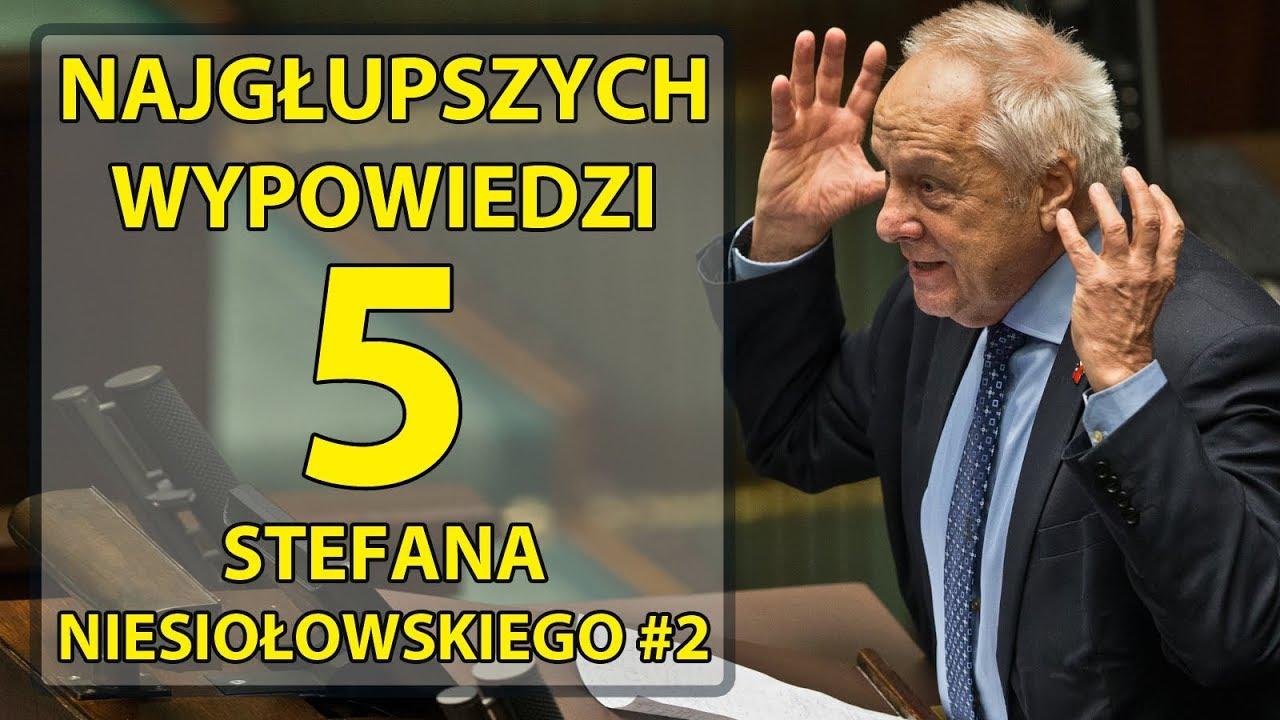 5 najgłupszych wypowiedzi Stefana Niesiołowskiego #2