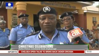 News Across Nigeria: Nigerian Navy Holds Annual Inspection 24/12/15 Pt. 1