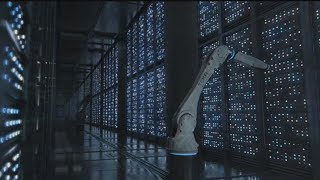 5分钟看完斯皮尔伯格经典科幻片《少数派报告》汤姆·克鲁斯换眼改变未来