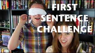FIRST SENTENCE CHALLENGE (feat. Sasha Alsberg) Thumbnail