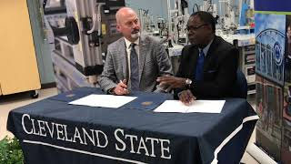 MTSU, Cleveland State Community College sign transfer pacts