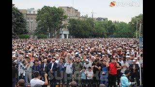 Бишкекте Курман айт намазы окулду
