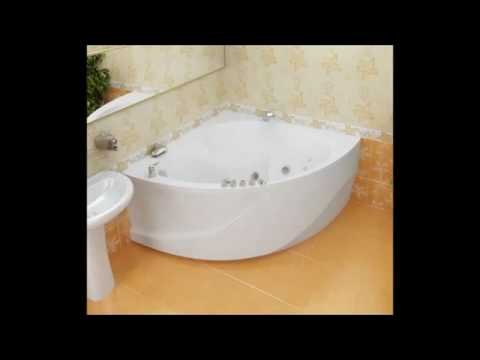 Угловые акриловые ванны.