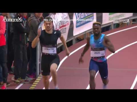 Christophe Lemaitre 20.53 Metz Athlelor 2018