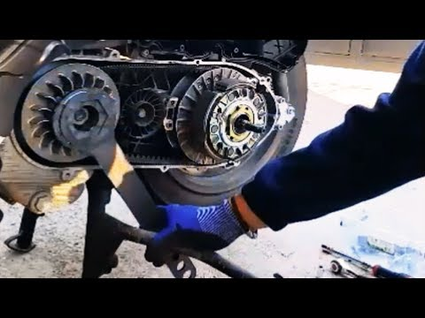 Tutorial to remove/set up variator /clutch/belt/rollers/torque drive of your Piaggio MP3 400-500