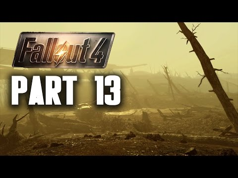 Fallout 4 Walkthrough Part 13 - THE GLOWING SEA & CRYOLATOR (PC Gameplay 60FPS)