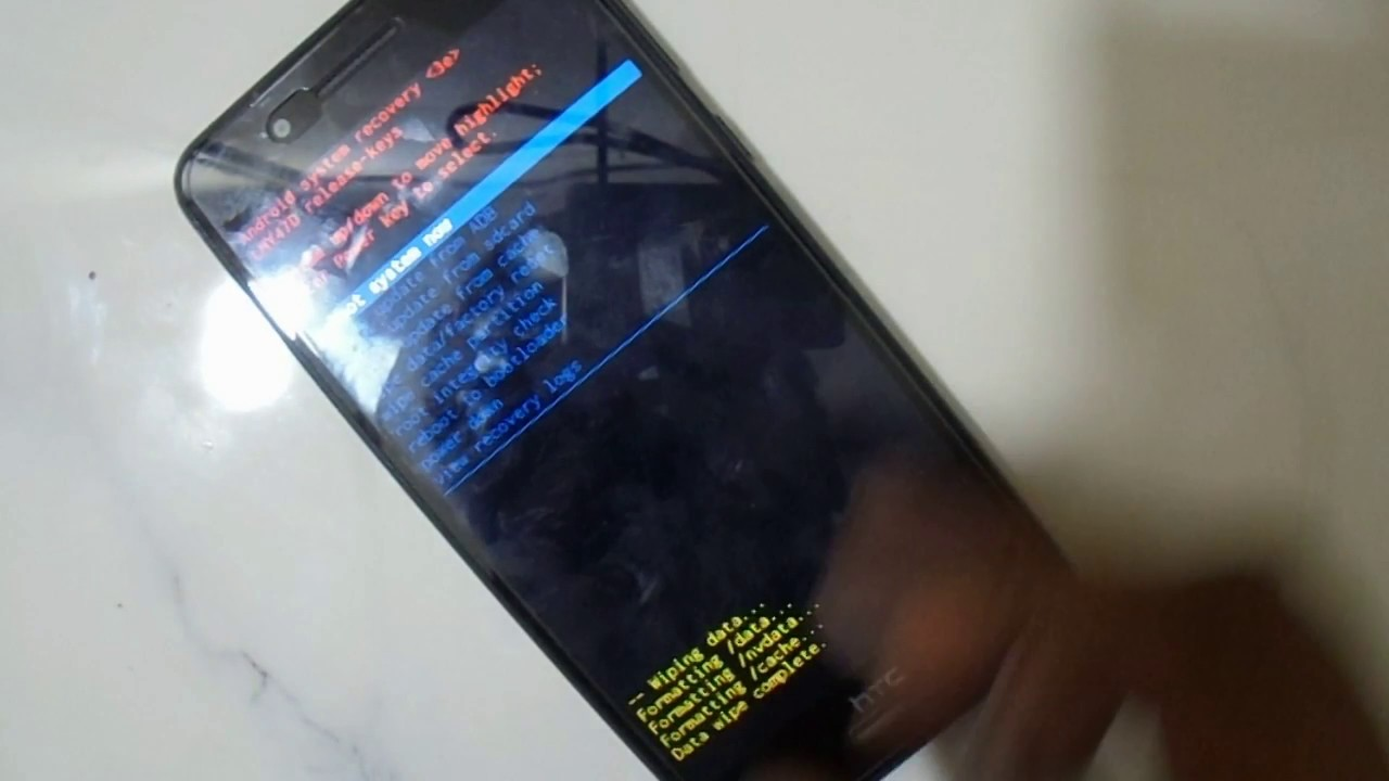 HTC Desire D728W How To Hard Reset Eazy 100%