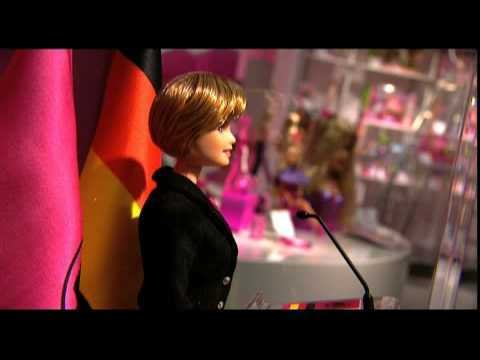 Mattel Unveils Angela Merkel Barbie Doll