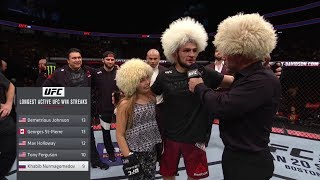 Mini khabib Meeting khabib nurmagomedov at ufc 219