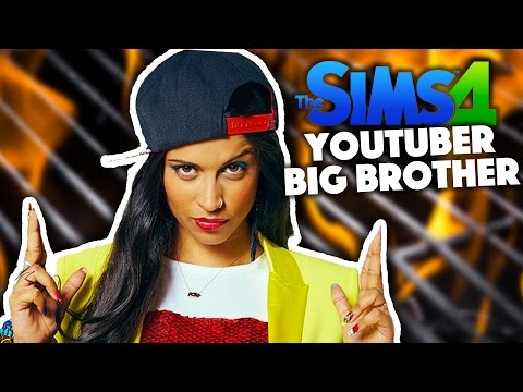 LILLY PEE'D HERSELF WHILST COOKING | YouTuber Big Brother | Sims 4