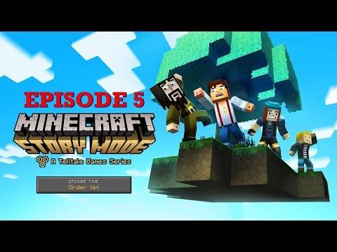 "Minecraft Story Mode - ,,Order Up"" Episode 5  Animation/English/German"