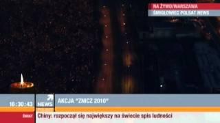 Wpadka w Polsat News - dziwny reporter.