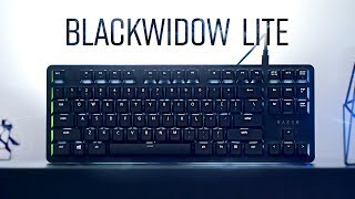 Razer Blackwidow Lite Keyboard Review!