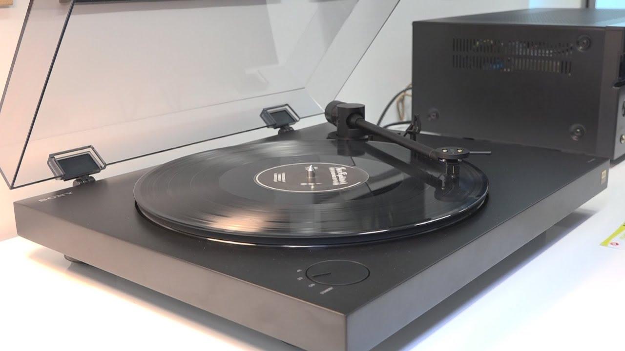 et sony inventa la platine vinyle hi res youtube. Black Bedroom Furniture Sets. Home Design Ideas