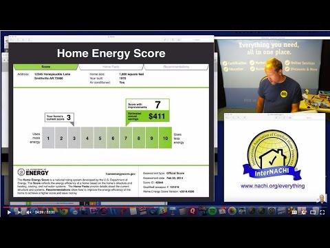 Home Energy Score Class #1