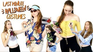 DIY Halloween Costumes you have in your closet! | EASY, CHEAP, AND CUTE | Shivana Codling |