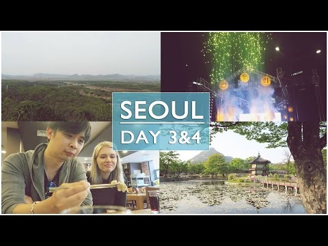 Seeing North Korea and Eating Live Octopus! | SEOUL VLOG | Day 3-4