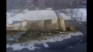Cosmos satellite fall down [Spadnutie satelitu]