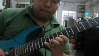 Lupang Hinirang on electric guitar