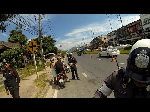 Thai Police Check Point - GoPro HD Hero 3 Black Edition 1080p