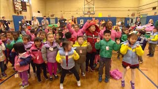 Kids Are Surprised With New Winter Coats as Early Holiday Presents thumbnail