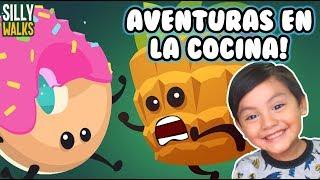Escapa de la Cocina   Silly Walks Gameplay   Juegos Android para niños