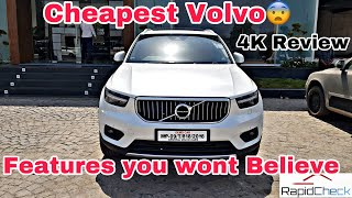 2019 Volvo XC40 Detailed Hindi Review India - Top End Variant Interior, Exterior Explained in Depth🔥