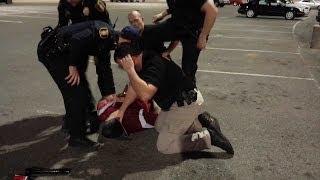GRAPHIC: Raw video of Oklahoma man