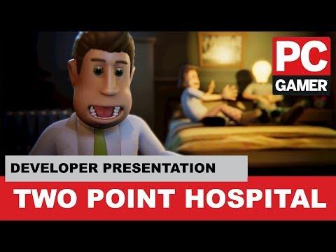 Two Point Hospital Developer Presentation - PC Gamer Weekender 2018