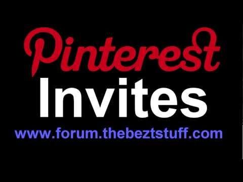 Instant Pinterest Invites - Get Your Pinterest Invite Now