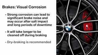 BMW Brakes: Visual Corrosion