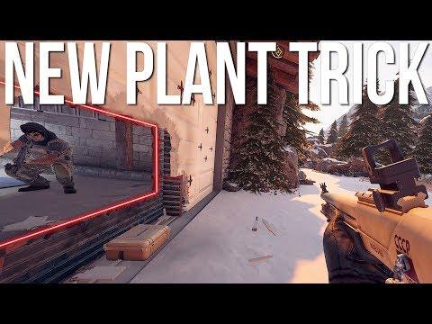 NEW Hibana Plant Trick - Rainbow Six Siege Tips & Tricks