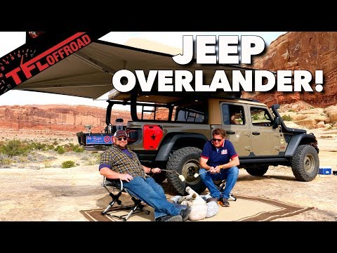 Tacoma Beware! The 2020 Jeep Gladiator Is Gunning For The Best Overland Truck You Can Buy