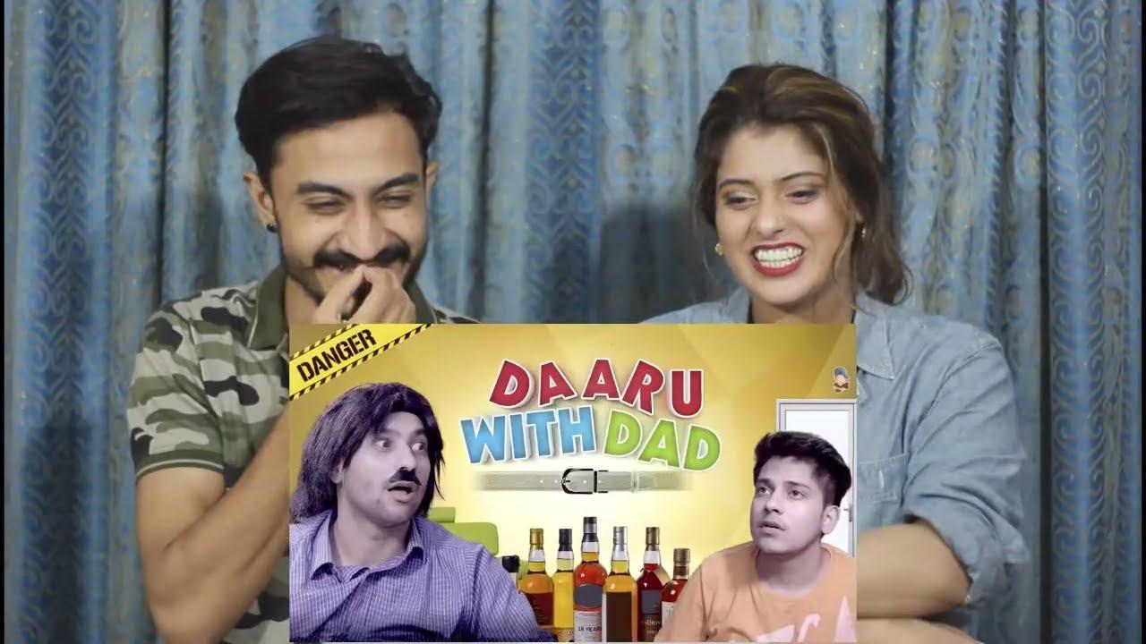 Pak Reaction To   Daaru With Dad   Harsh Beniwal