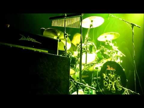 Saga Mike Thorne Drum Solo Parts 1 and 2 Debaser Medis in Stockholm 02 11 2012