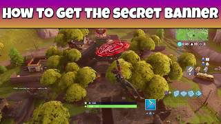 How to get the secret BANNER in Fortnite - Battle Royale