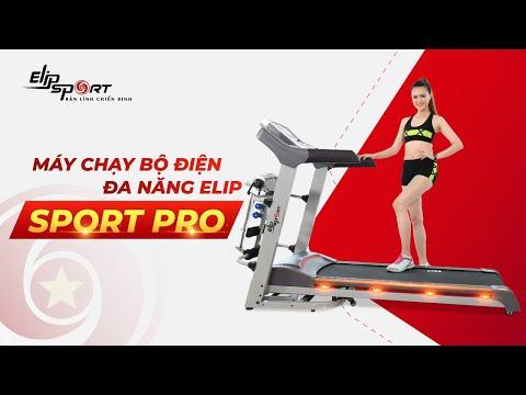 Máy chạy bộ điện Elip Sport Pro