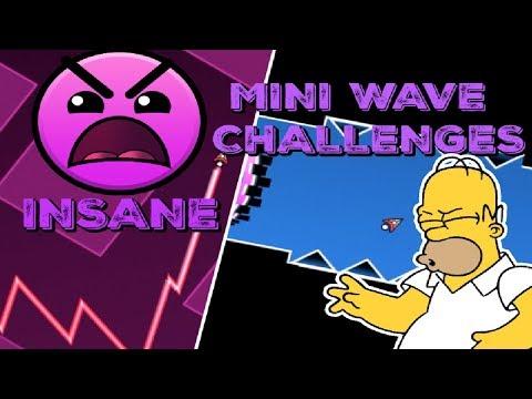 INSANE MINI WAVE CC CHALLENGES! - CC Challenges P. 24 (Geometry Dash)