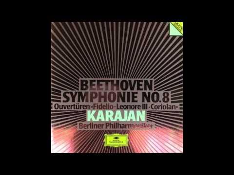 Beethoven: Egmont Overture, Coriolan Overture, Fidelio, Leonore #03 Overture (Karajan_1985)
