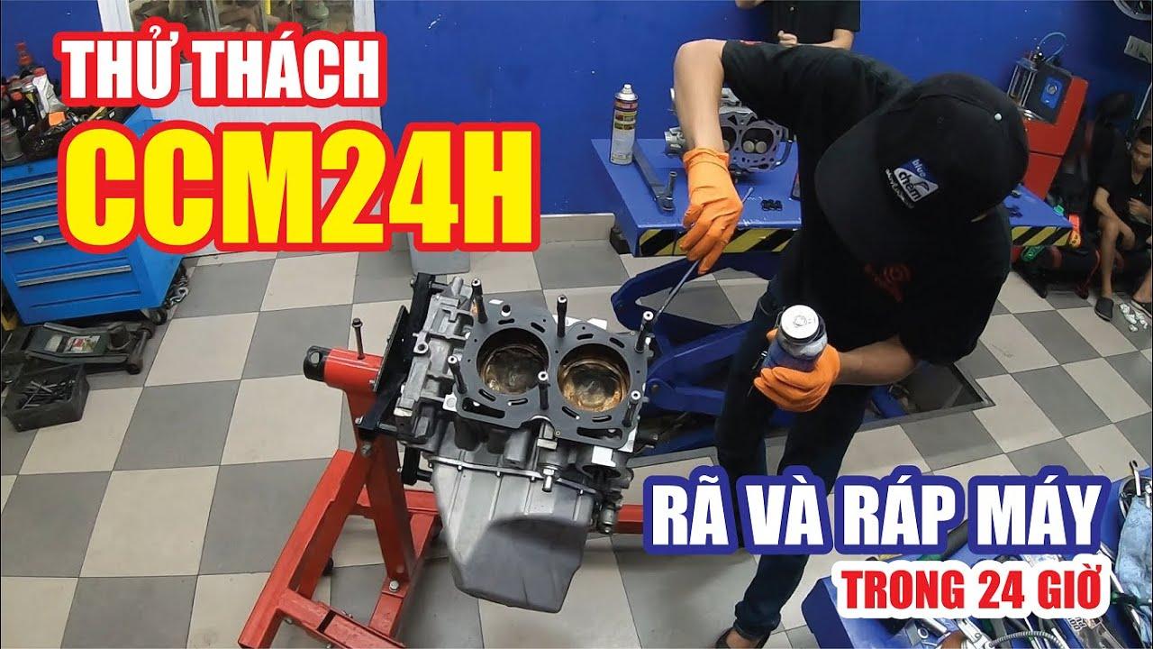 Thử thách Rã và Ráp động cơ xe đua Subaru trong vòng 24 giờ.