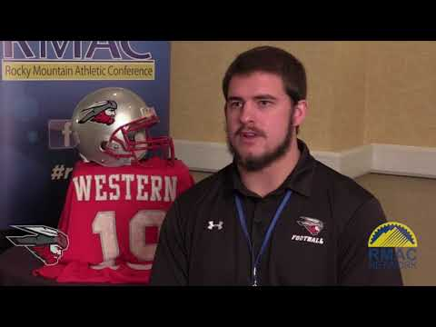 Western State Football Media Day One On One Interviews