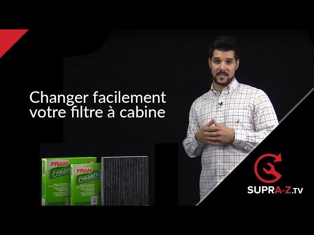 Comment changer votre filtre à cabine
