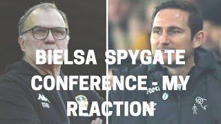 Bielsa Spygate Conference - My Reaction