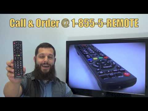 Panasonic N2QAYB000837 Plasma TV Remote Control - Www.ReplacementRemotes.com