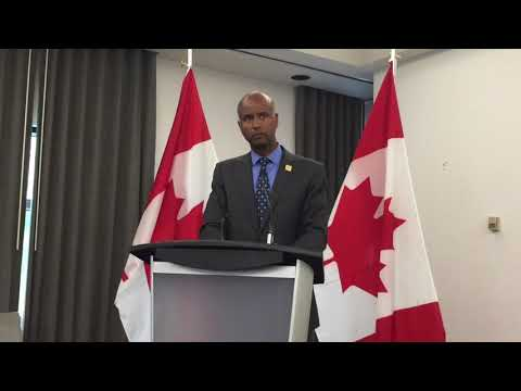 Immigration Minister Ahmed Hussen Q&A Session Downton Vancouver (05/09/2017)