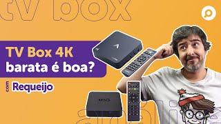 Imagem do prévia do vídeo: TV Box 4K BARATA vale a pena? Análise AQUÁRIO STV-2000 e MXQ PRO 4K 5G!