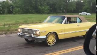 """63 Impala Vert on 22"""" Forgiatos"""