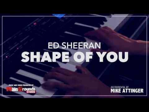 Ed Sheeran - Shape of you - Acoustic - Karaoke / Lyrics / Instrumental