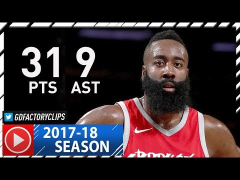 James Harden Full Highlights vs Knicks (2017.11.01) - 31 Pts, 9 Ast, TOO EASY!