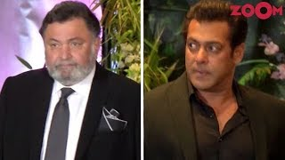 Rishi Kapoor Upset With Salman Khan's Behaviour At Sonam Kapoor's Wedding Reception